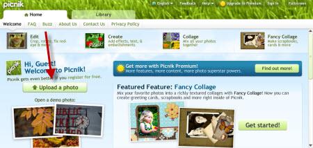 Picnik Screenshot 1