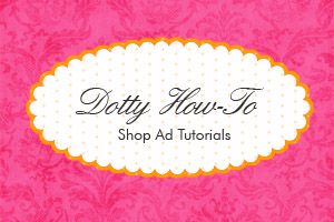 Shop Ad Tutorial Graphic