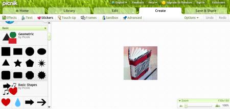 Picnik Screenshot 3