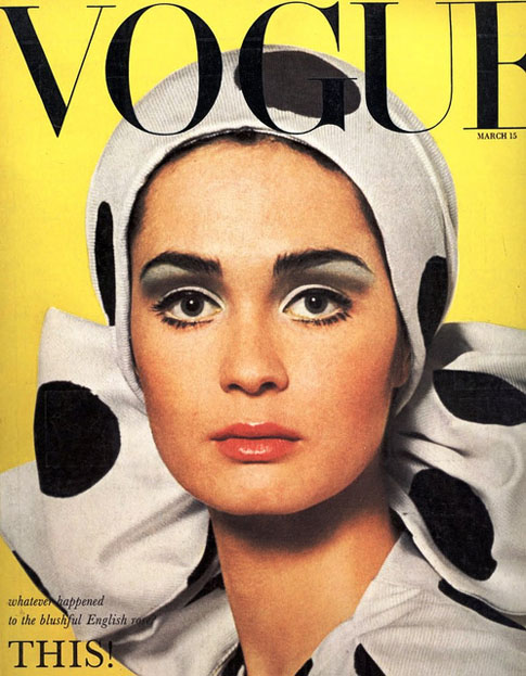 Vogue-Magazine-Cover-Vintage-Polka-Dots