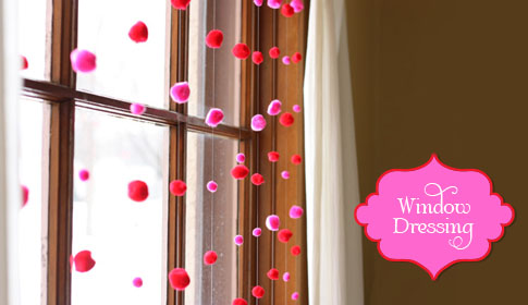Decorate Your Windows for Valentine's Day » On the Dot Creations