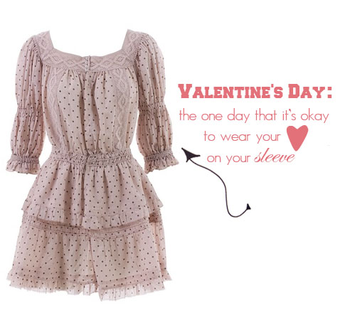 Valentines-Day-Heart-on-Sleeve-Polka-Dot