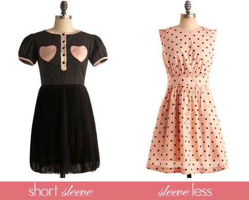 Short-Sleeve-and-Sleeveless-Polka-Dot