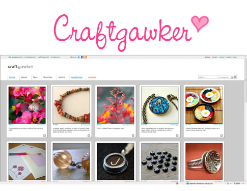 Craftgawker-Screenshot