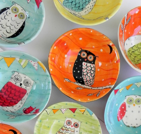 Polka-Dot-Owl-Candy-Bowl-Joy-Elizabeth-Ceramics