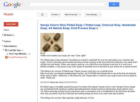 Etsy-RSS-Feed-in-Google-Reader