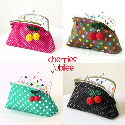 Polka-Dot-Cherry-Clutch-Wild-Olive-Studio