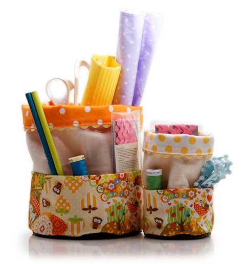 Polka-Dot-Fabric-Baskets-JenMaruskaDesign