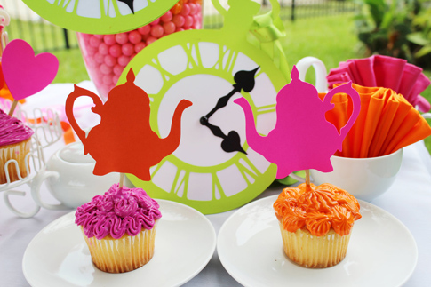 Alice in Wonderland Cupcake Ideas Alice in Wonderland Cupcake